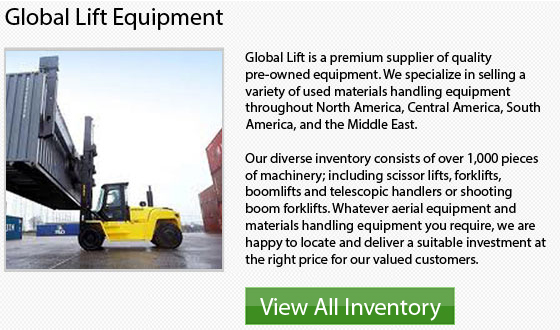 Used Mitsubishi Forklifts - Inventory California top